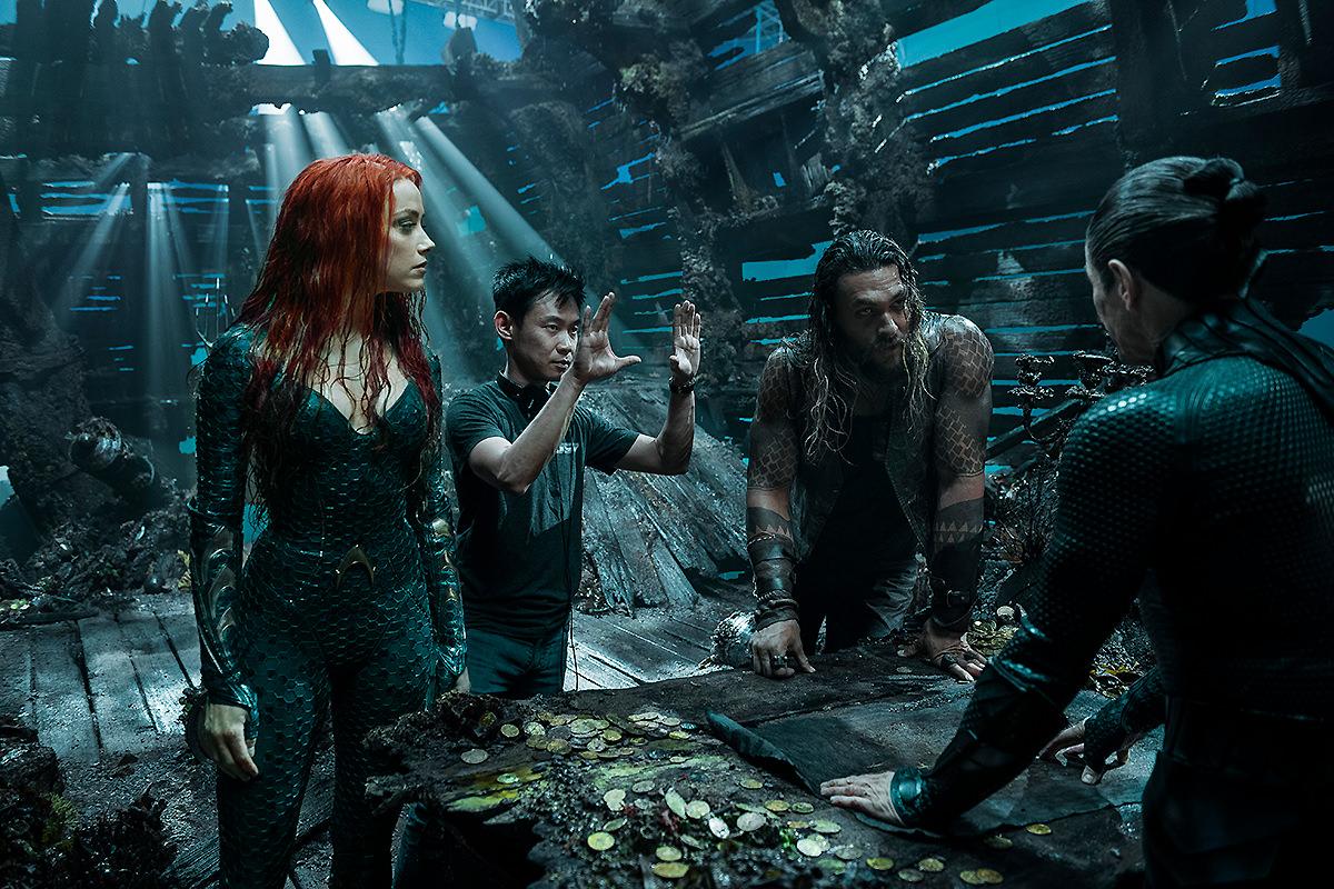 Aquaman 2 ya está en desarrollo y James Wan podría dirigirla