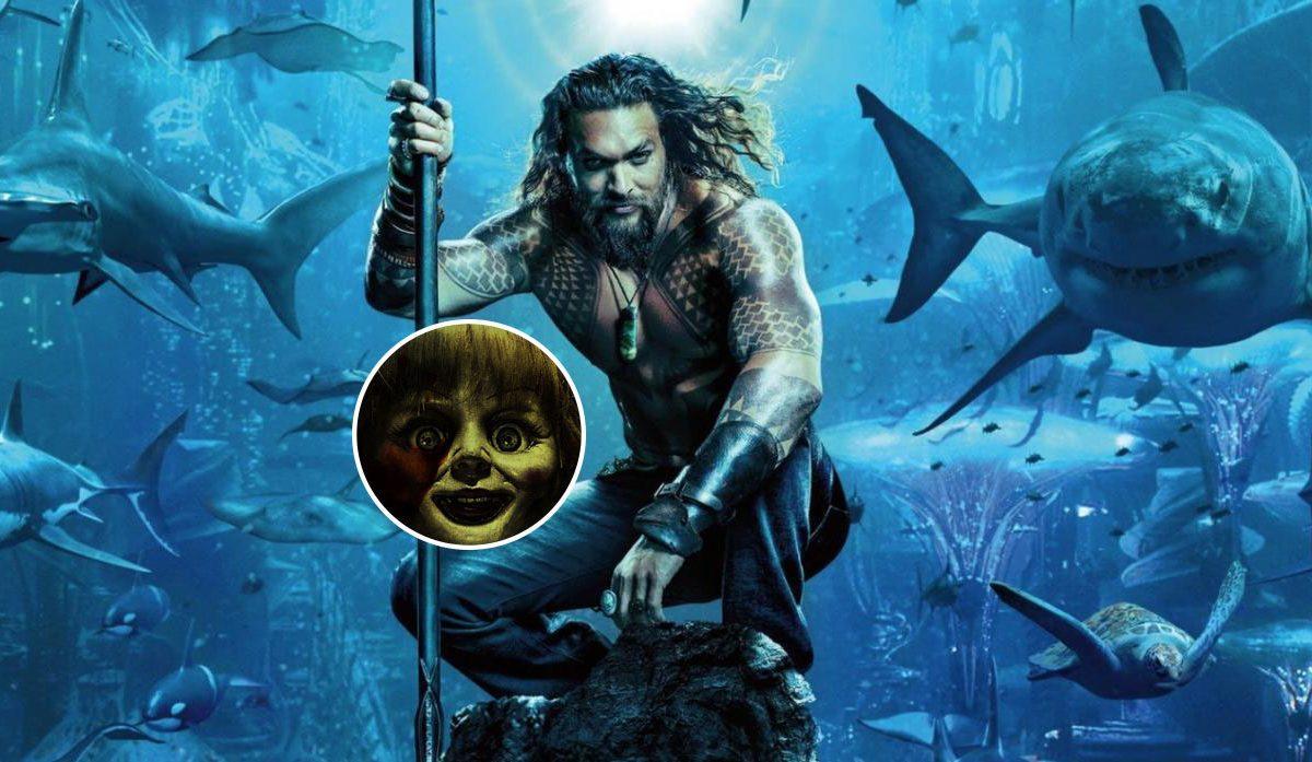James Wan incluyó un guiño a Annabelle en Aquaman