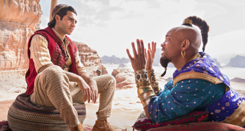 Will Smith asegura que veremos al Genio de color azul en Aladdin