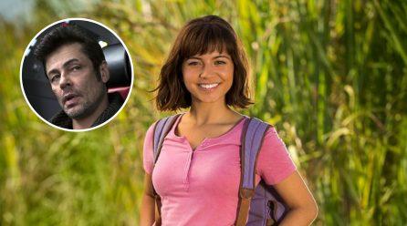 Dora la Exploradora: El live-action suma a Benicio del Toro en un importante rol
