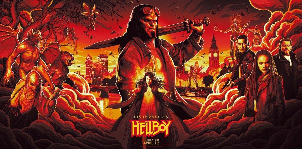 Hellboy estrena nuevos adelantos