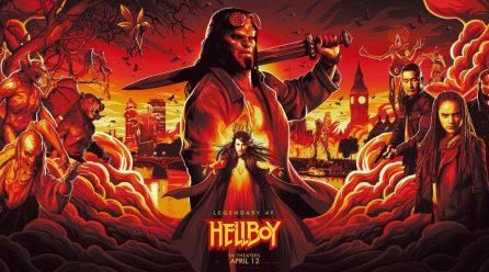 Hellboy: David Harbour presenta un nuevo poster en movimiento
