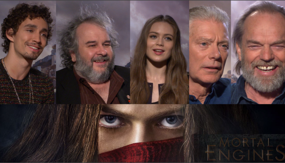 Máquinas Mortales: Peter Jackson y elenco nos hablan sobre un futuro post-apocalíptico