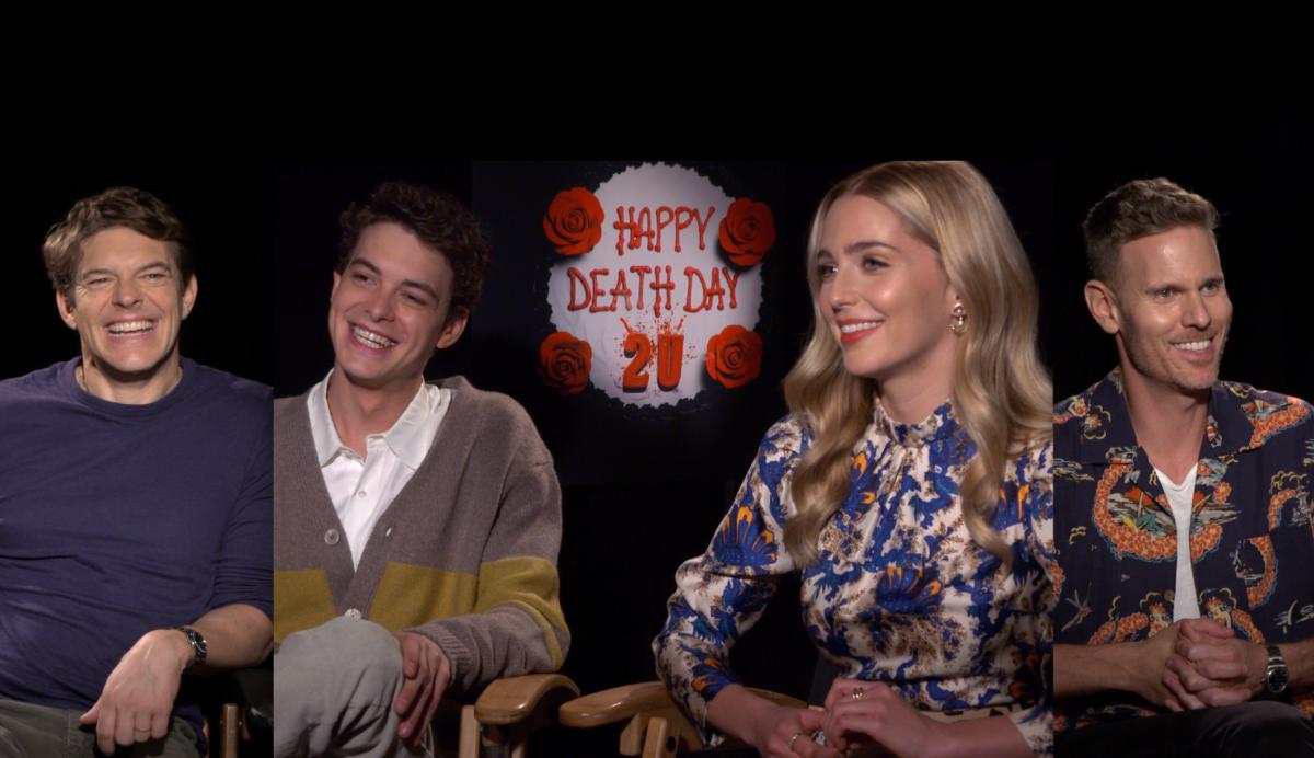 Feliz día de Tu Muerte 2: El elenco elige la película en la que viviría en loop