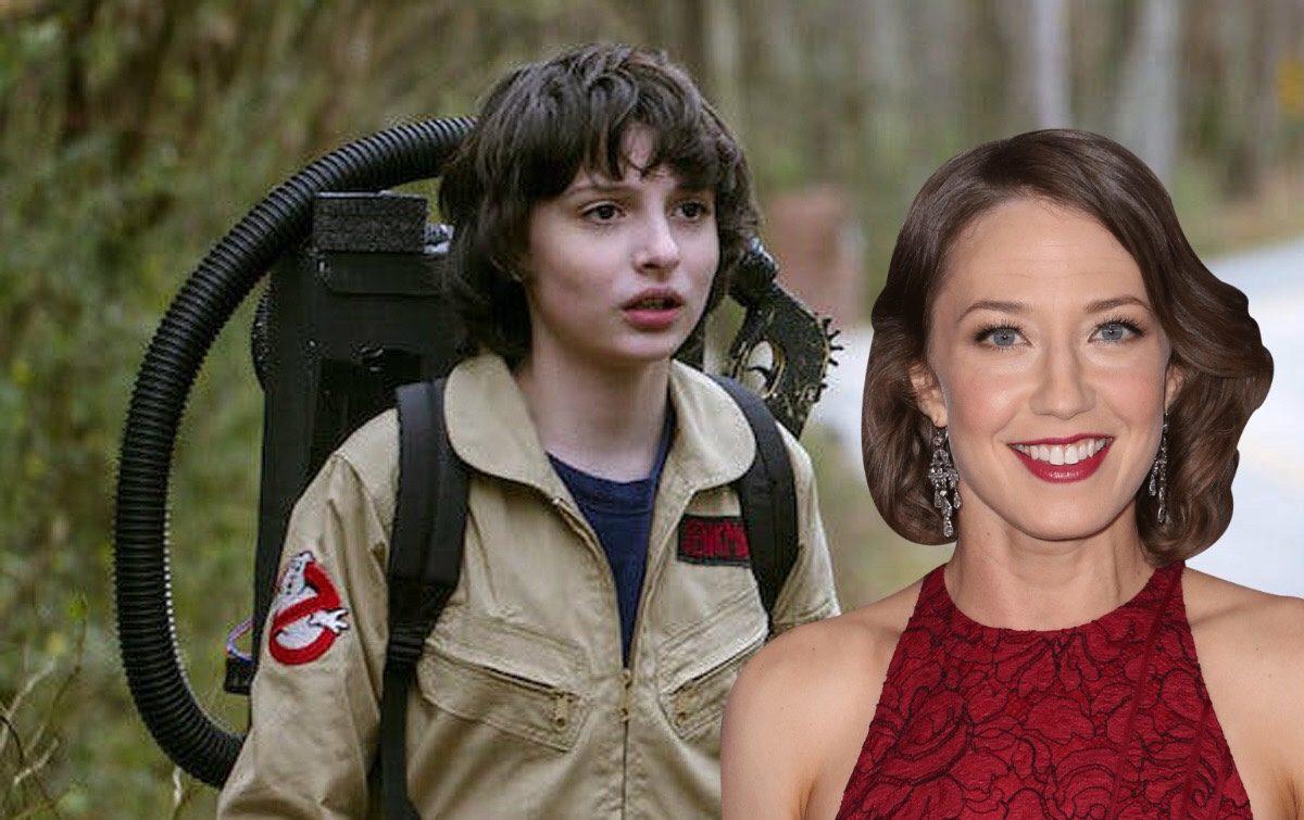 Cazafantasmas 3: Finn Wolfhard y Carrie Coon se acercan a la película