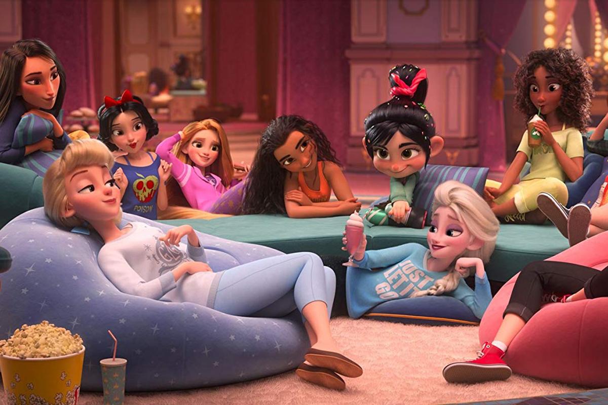 Wi-Fi Ralph: los dires quieren una película sobre las princesas