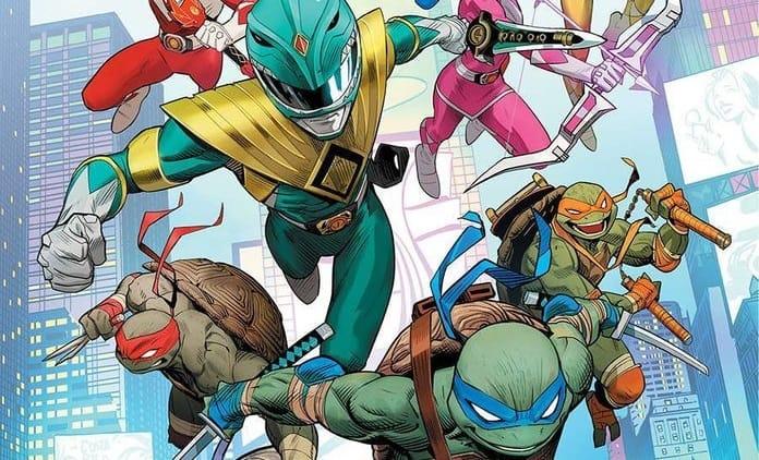 Power Rangers y Las Tortugas Ninja anuncian su crossover