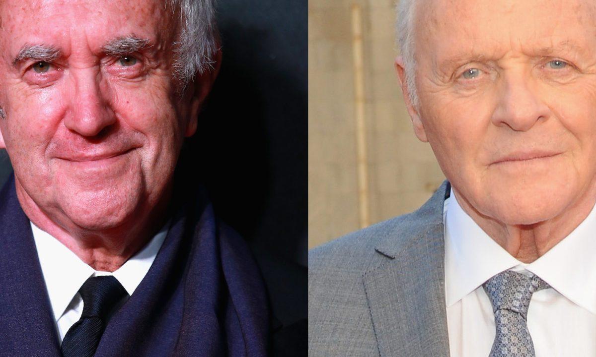 Anthony Hopkins y Jonathan Pryce protagonizan la primera imagen de Los Dos Papas