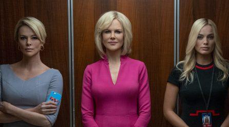 Margot Robbie, Nicole Kidman y Charlize Theron protagonizan el trailer de El Escándalo