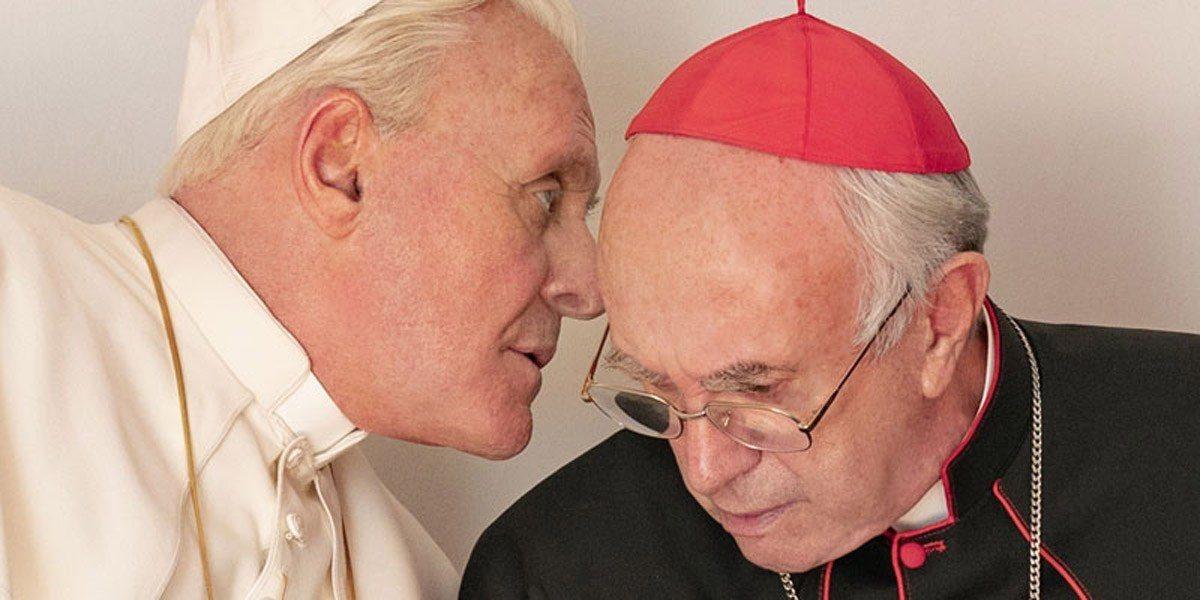 Anthony Hopkins y Jonathan Pryce protagonizan el trailer de Los Dos Papas