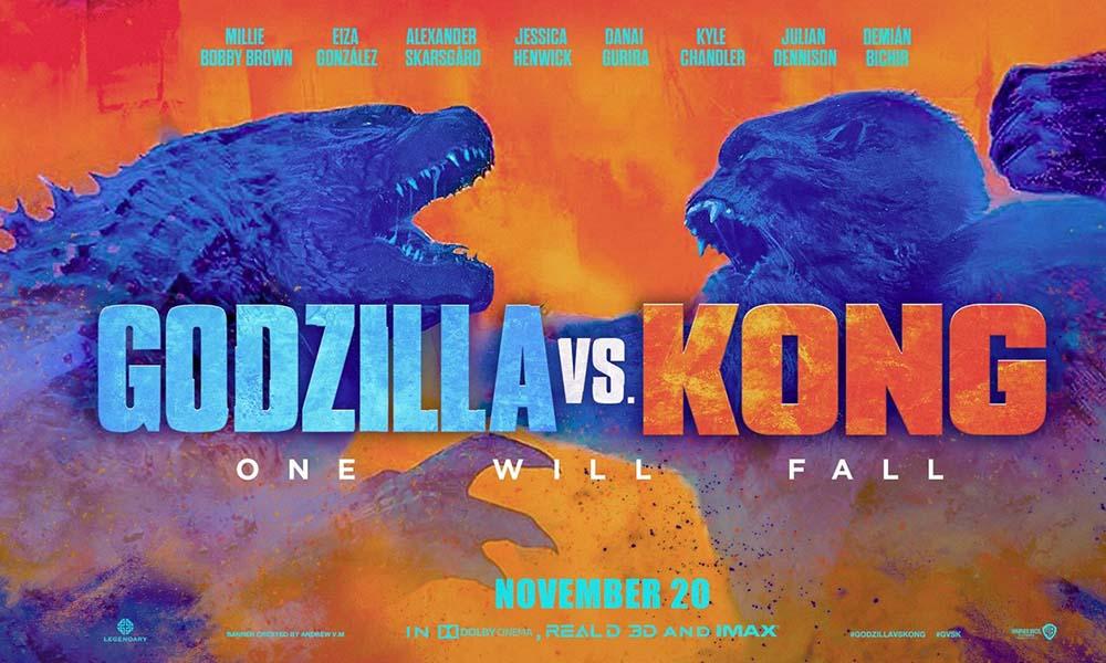 Godzilla vs Kong estrena nuevos adelantos