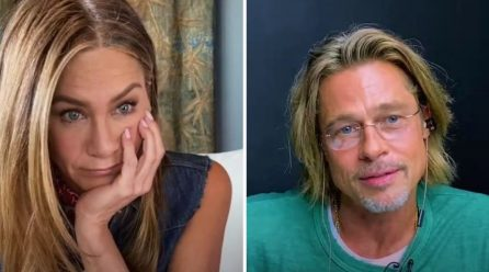 Brad Pitt y Jennifer Aniston se reúnen en la lectura virtual de guion de Fast Times at Ridgemont High