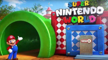 Nintendo anticipa su nuevo parque temático con un video