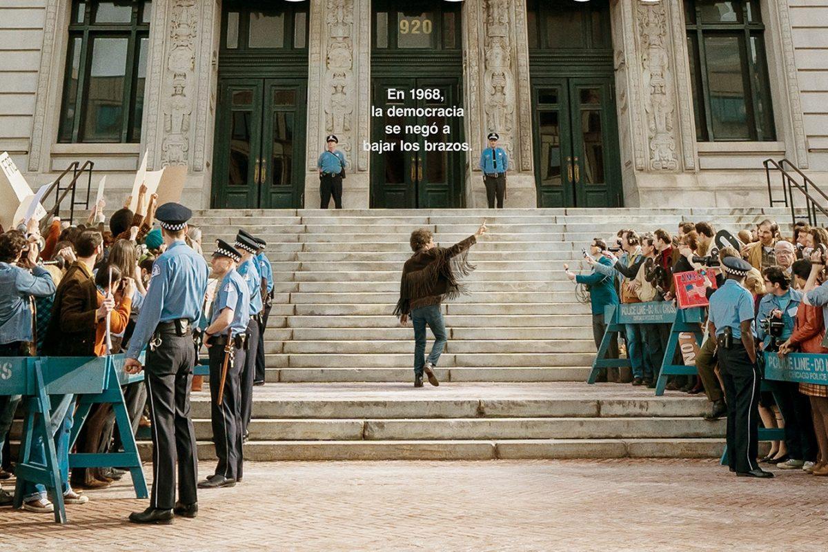 El Juicio de los 7 de Chicago estrena su trailer