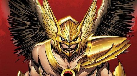 Black Adam se acerca a su Hawkman