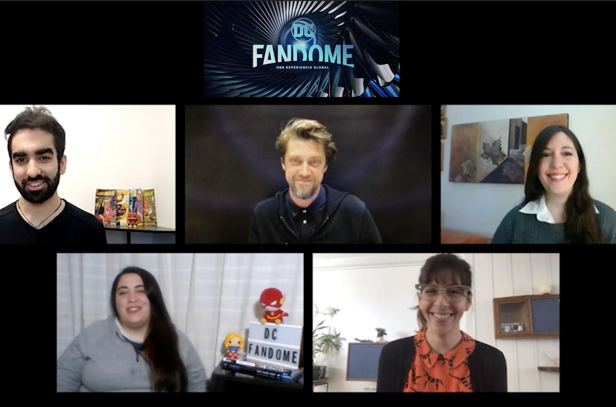 DC FanDome: El equipo de La Cosa entrevista a Andy Muschietti