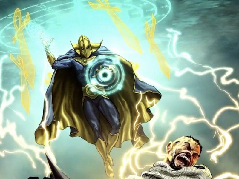 Black Adam anticipa nuevos detalles de Doctor Fate