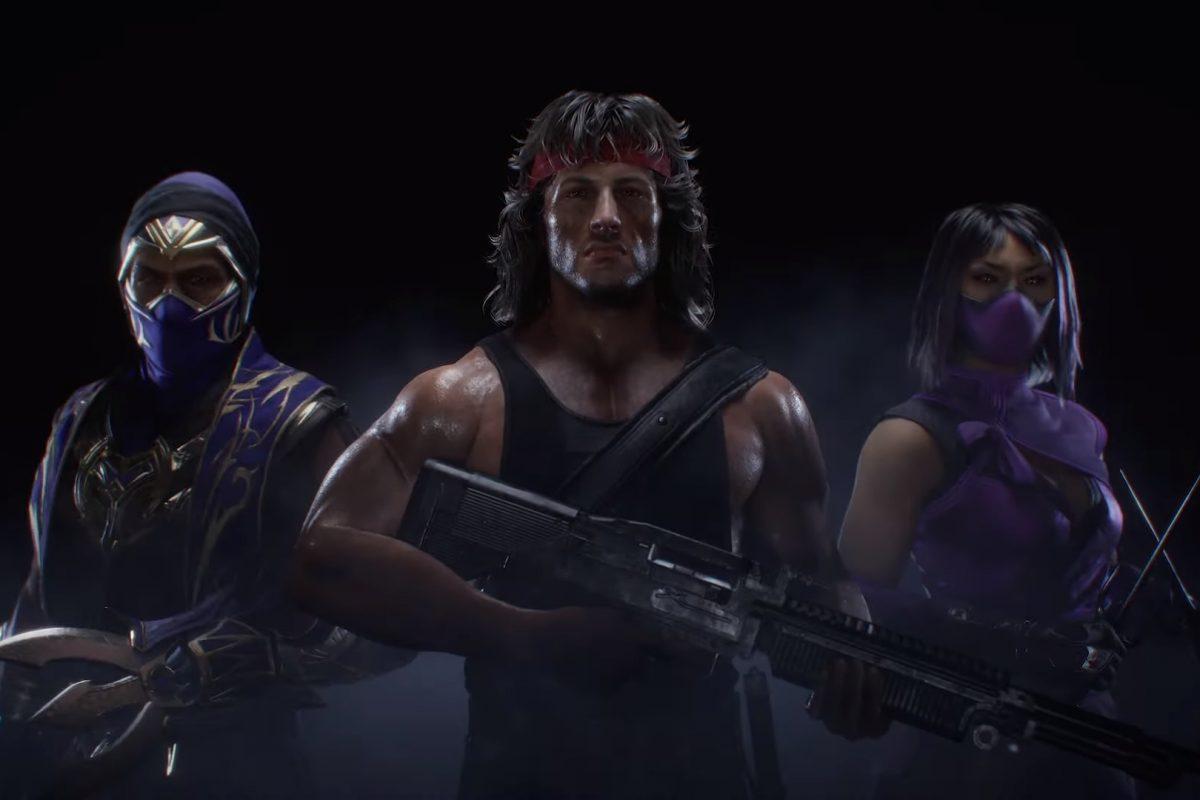 Rambo protagoniza el nuevo trailer de Mortal Kombat 11 Ultimate