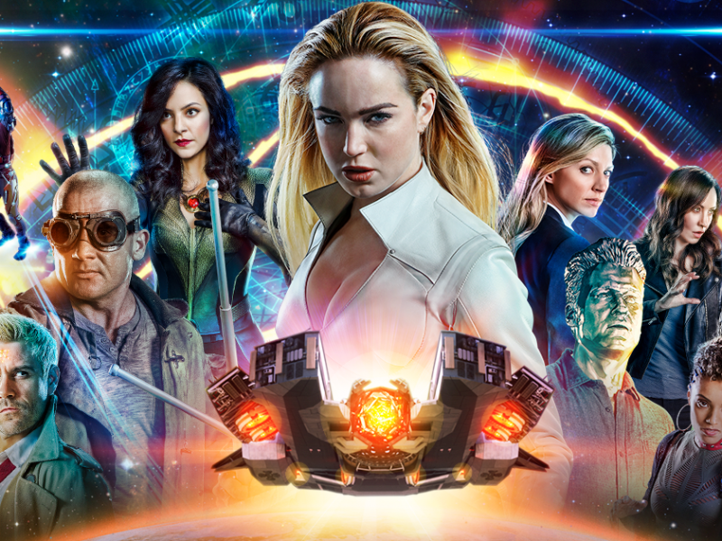 DC's Legends of Tomorrow anuncia su regreso con el teaser de su sexta temporada