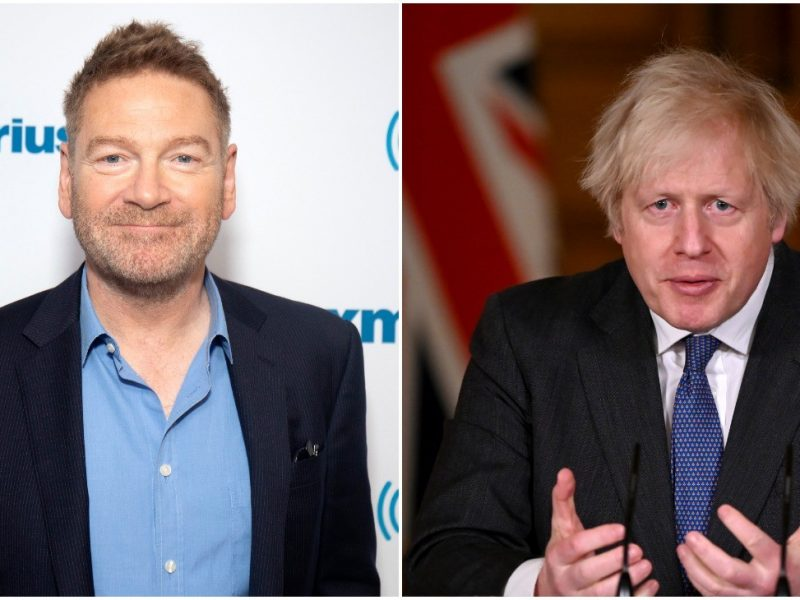 Kenneth Branagh será Boris Johnson en una mini serie sobre la pandemia