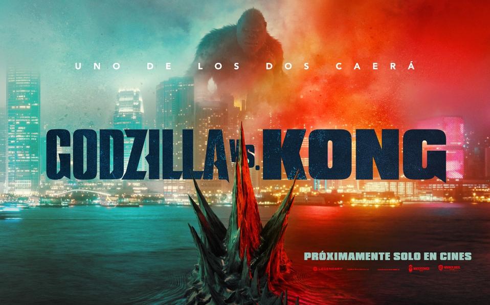 Godzilla vs Kong: Nuevo trailer y poster