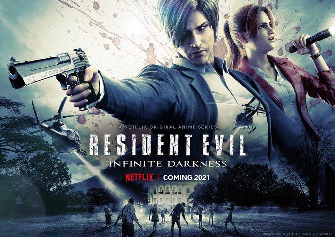 Resident Evil: Infinite Darkness estrena un nuevo adelanto