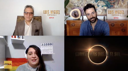 Luis Miguel:La Serie:  César Bordón y Pablo Cruz Guerrero nos hablan de la segunda temporada
