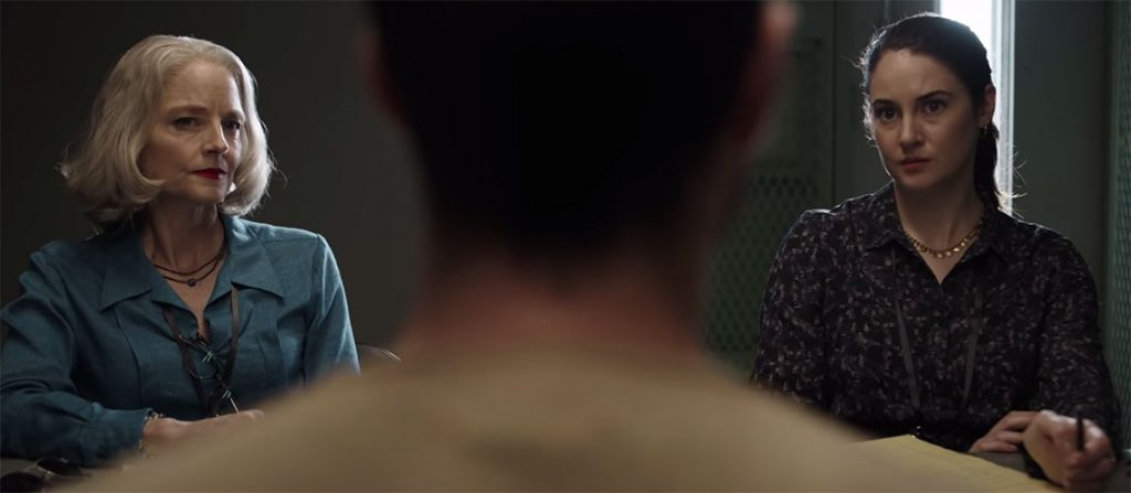 Jodie Foster y Shailene Woodley protagonizan el trailer de The Mauritanian