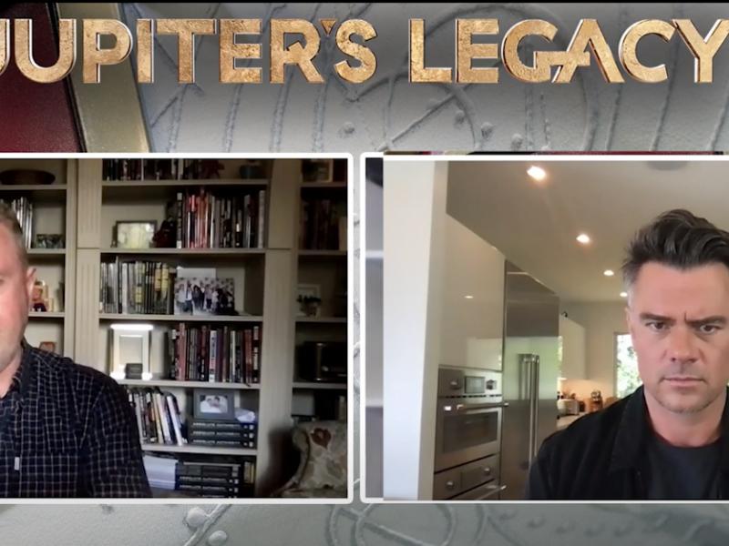 Jupiter's Legacy: Josh Duhamel y Mark Millar nos hablan sobre la nueva serie de superhéroes de Netflix