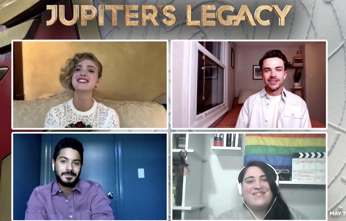 Jupiter's Legacy: Hablamos con el cast de la serie de Netflix