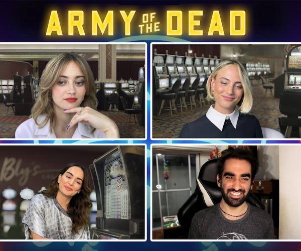 El Ejército de Los Muertos: Hablamos con Ana de la Reguera, Ella Purnell y Nora Arnezeder