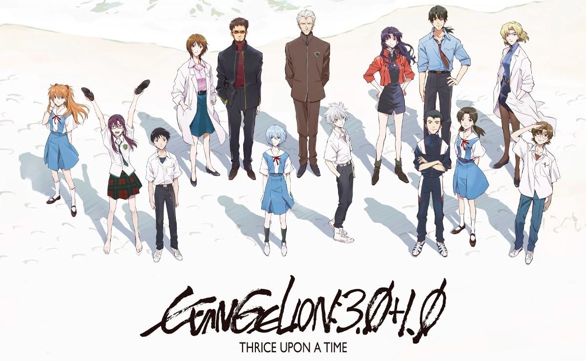 Evangelion: Amazon confirma el estreno de la cuarta película con un teaser