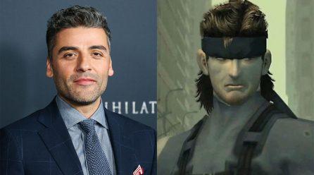 Metal Gear Solid: Oscar Isaac explica por qué eligió interpretar a Solid Snake en la película