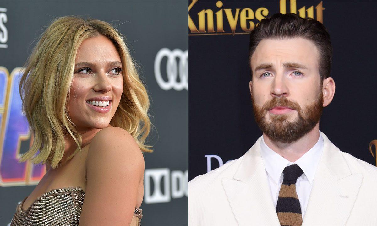 Chris Evans y Scarlett Johansson se reúnen en Ghosted, aventura sobrenatural del director de Rocketman