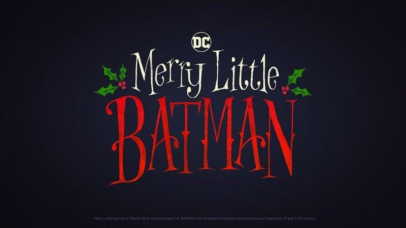 DC anuncia Merry Little Batman
