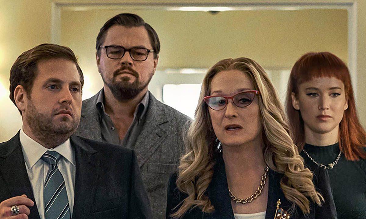 Leonardo DiCaprio y Jennifer Lawrence en el primer tráiler de No Miren Arriba de Netflix
