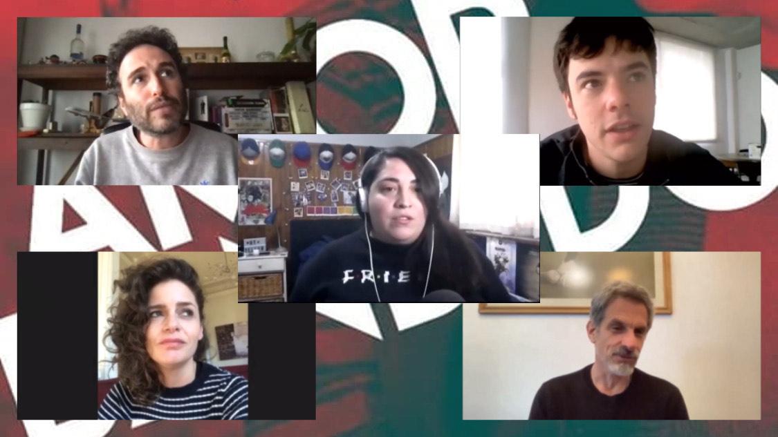 Amor Bandido: Hablamos con Daniel Werner, Ranato Quattordio, Romina Ricci  Rafael Ferro