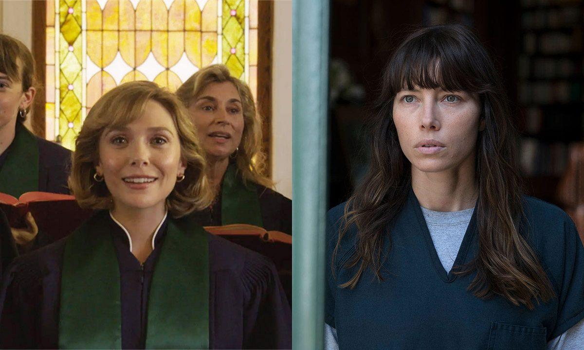 Elizabeth Olsen y Jessica Biel – dos actrices para el mismo personaje, en HBO Max y Hulu