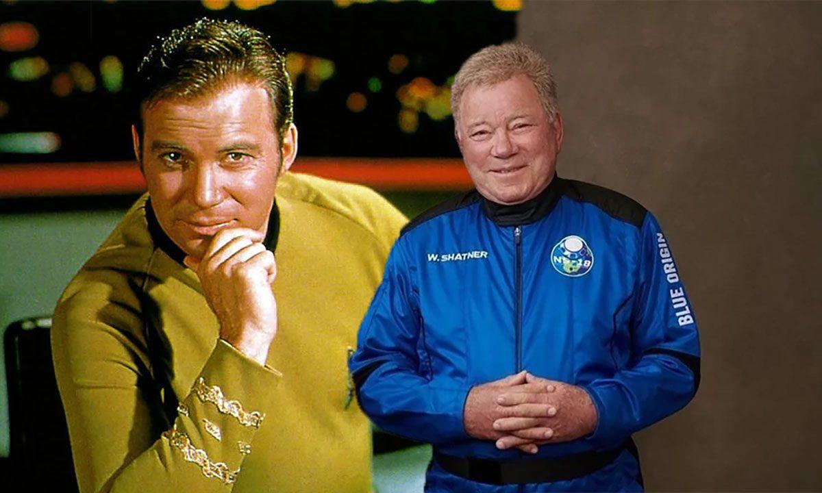 A los 90 años William Shatner, el capitán Kirk de Star Trek, viajó al espacio en el Blue Origin